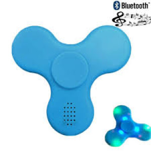 Fidget Spinner Bluetooth LED Speaker